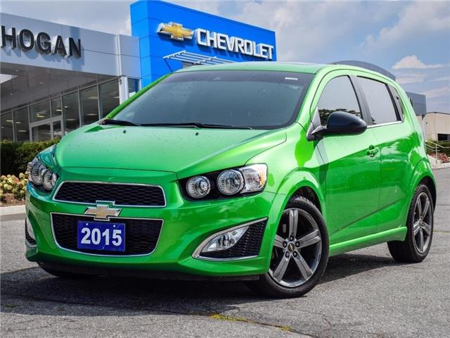 2015 Chevrolet Sonic RS Manual (Stk: WX179967) in Scarborough - Image 1 of 27
