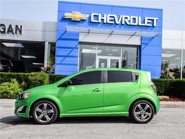 2015 Chevrolet Sonic RS Manual (Stk: WX179967) in Scarborough - Image 2 of 27