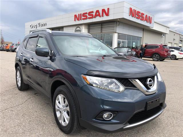 2016 Nissan Rogue SV (Stk: P2591) in Cambridge - Image 1 of 27