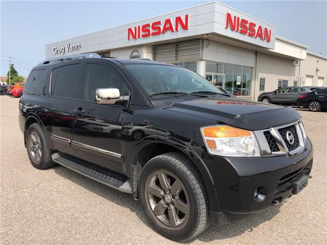 2013 Nissan Armada Platinum (Stk: V0504A) in Cambridge - Image 1 of 30