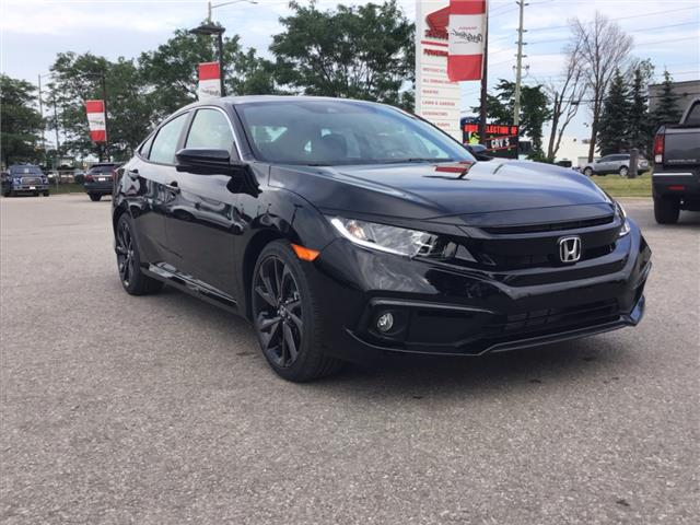 2019 Honda Civic Sport (Stk: 191457) in Barrie - Image 7 of 25