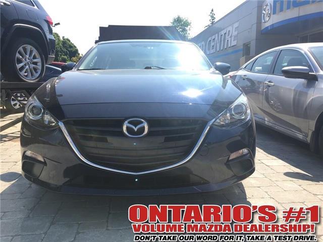 2016 Mazda Mazda3 Sport GS (Stk: P2403) in Toronto - Image 1 of 8