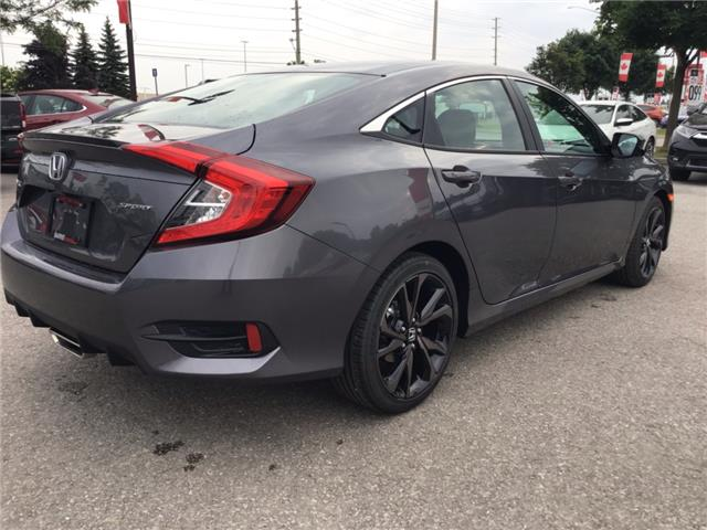 2019 Honda Civic Sport (Stk: 191385) in Barrie - Image 6 of 26