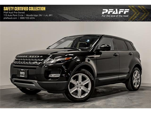 2015 Land Rover Range Rover Evoque Pure (Stk: T16988A) in Woodbridge - Image 1 of 22