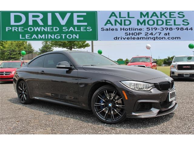 2015 BMW 435i xDrive (Stk: D0096) in Leamington - Image 1 of 28