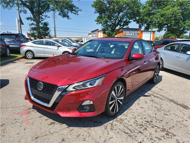 2019 Nissan Altima 2.5 Platinum (Stk: D310482A) in Scarborough - Image 1 of 7