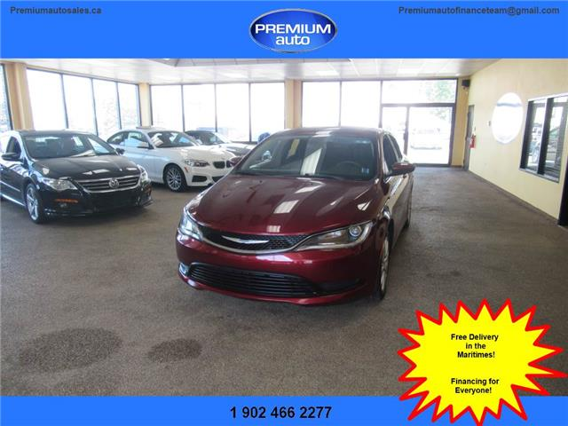 2016 Chrysler 200 LX (Stk: 145915) in Dartmouth - Image 1 of 20