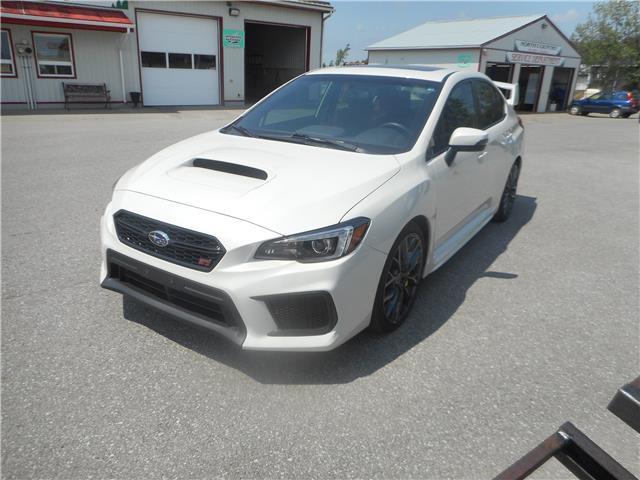 2018 Subaru WRX STI Sport-tech w/Wing (Stk: ) in Cameron - Image 1 of 12