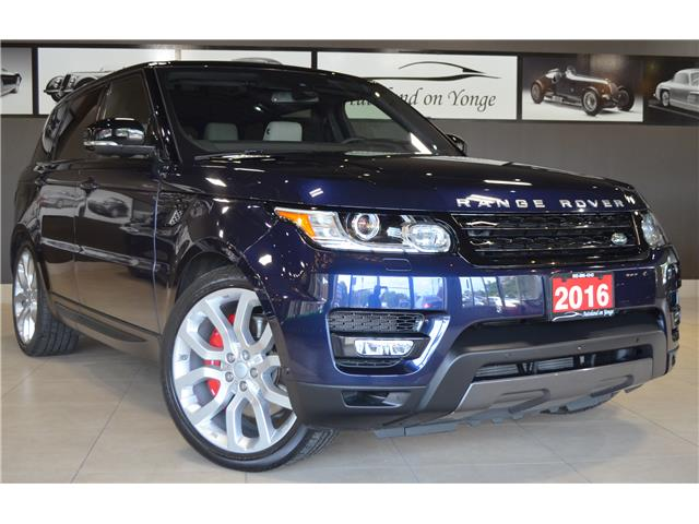 2016 Land Rover Range Rover Sport V8 Supercharged (Stk: AUTOLAND- C35258) in Thornhill - Image 2 of 36