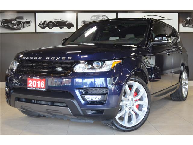 2016 Land Rover Range Rover Sport V8 Supercharged (Stk: AUTOLAND- C35258) in Thornhill - Image 1 of 36
