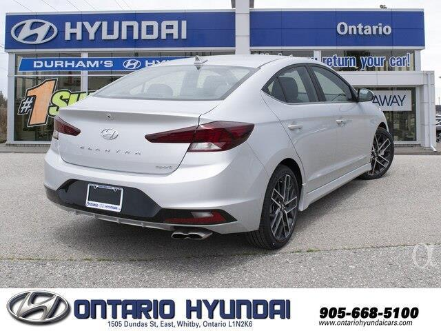 2019 Hyundai Elantra Sport (Stk: 824434) in Whitby - Image 7 of 19