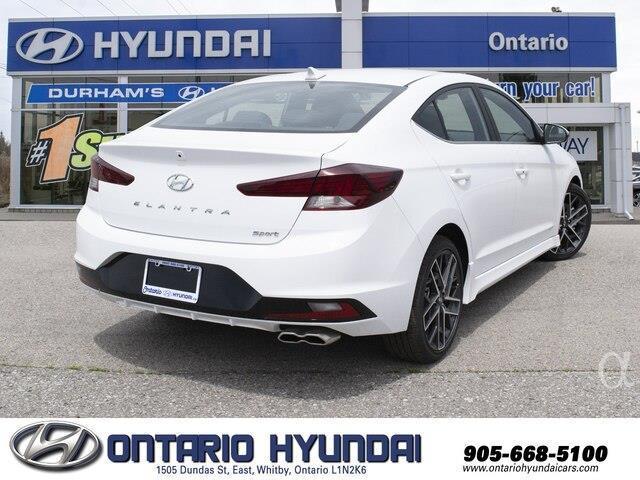 2019 Hyundai Elantra Sport (Stk: 858972) in Whitby - Image 7 of 21