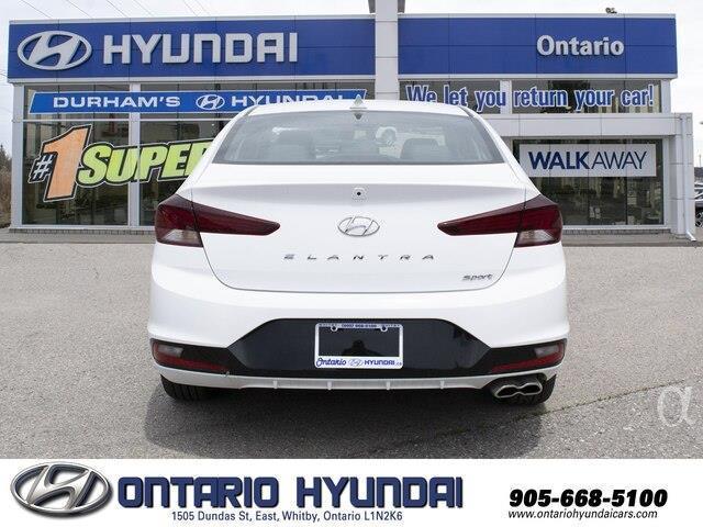 2019 Hyundai Elantra Sport (Stk: 858972) in Whitby - Image 17 of 21