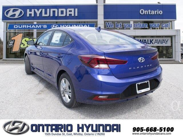 2020 Hyundai Elantra Preferred (Stk: 911030) in Whitby - Image 8 of 20
