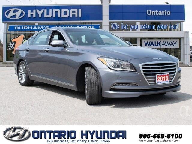 2015 Hyundai Genesis 3.8 (Stk: 51042K) in Whitby - Image 10 of 22