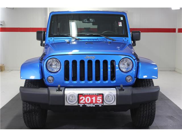 2015 Jeep Wrangler Unlimited Sahara (Stk: 298641S) in Markham - Image 3 of 24