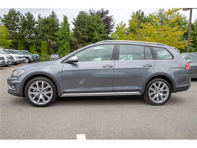 2019 Volkswagen Golf Alltrack 1.8 TSI Execline (Stk: KG503671) in Vancouver - Image 4 of 25