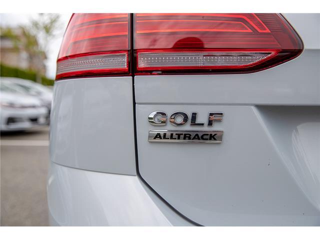 2019 Volkswagen Golf Alltrack 1.8 TSI Execline (Stk: KG503747) in Vancouver - Image 10 of 28