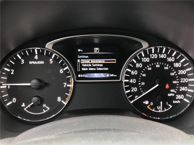 2018 Nissan Altima -SL  SUNROOF  NAVIGATION.... 2.5 (Stk: M10144A) in Scarborough - Image 15 of 22