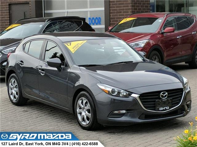 2017 Mazda Mazda3 Sport GX (Stk: 28982) in East York - Image 1 of 28