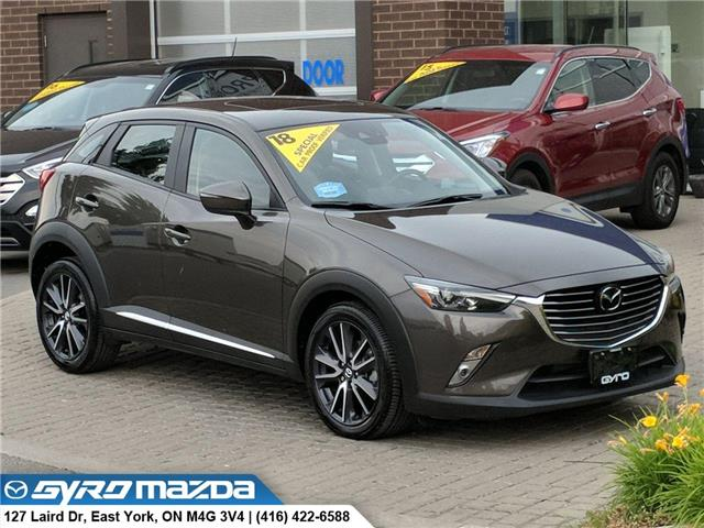 2018 Mazda CX-3 GT (Stk: 28820A) in East York - Image 1 of 30