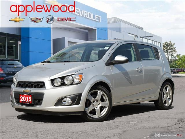 2015 Chevrolet Sonic LT Auto (Stk: 3634JC) in Mississauga - Image 1 of 27