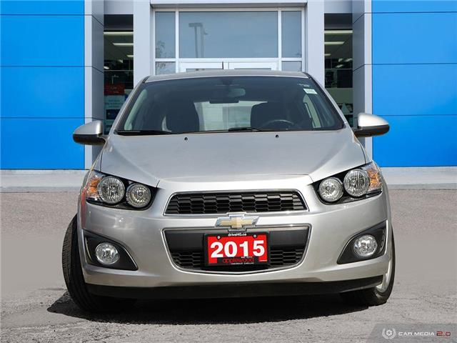 2015 Chevrolet Sonic LT Auto (Stk: 3634JC) in Mississauga - Image 2 of 27