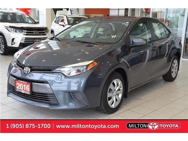 2016 Toyota Corolla  (Stk: 634733) in Milton - Image 1 of 50