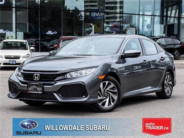 2017 Honda Civic LX | LOW MLEAGE | NO ACCIDENT (Stk: 14865A) in Toronto - Image 1 of 23