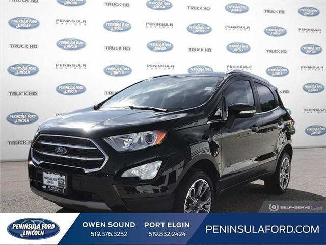 2019 Ford EcoSport Titanium (Stk: 19EC07) in Owen Sound - Image 1 of 24