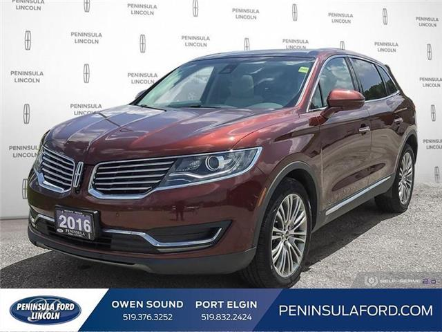 2016 Lincoln MKX Reserve (Stk: 1815) in Owen Sound - Image 1 of 24