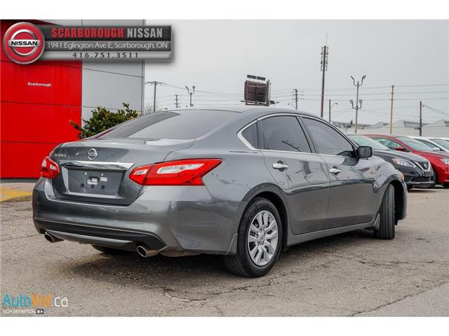 2016 Nissan Altima 2.5 (Stk: T19009A) in Scarborough - Image 6 of 23