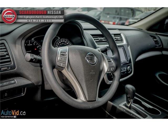2016 Nissan Altima 2.5 (Stk: T19009A) in Scarborough - Image 14 of 23