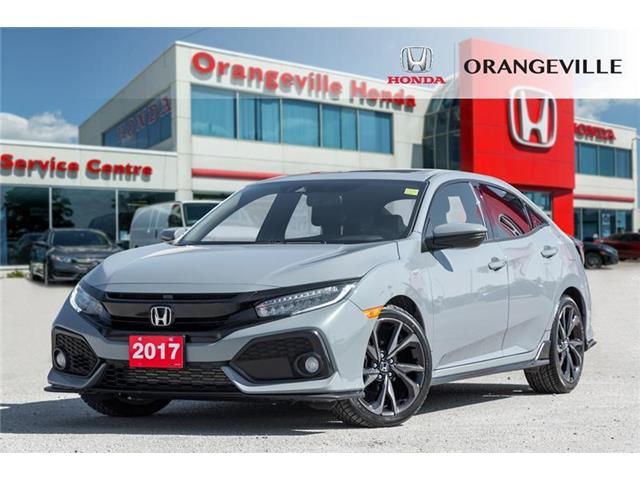 2017 Honda Civic Sport Touring (Stk: S19010A) in Orangeville - Image 1 of 22