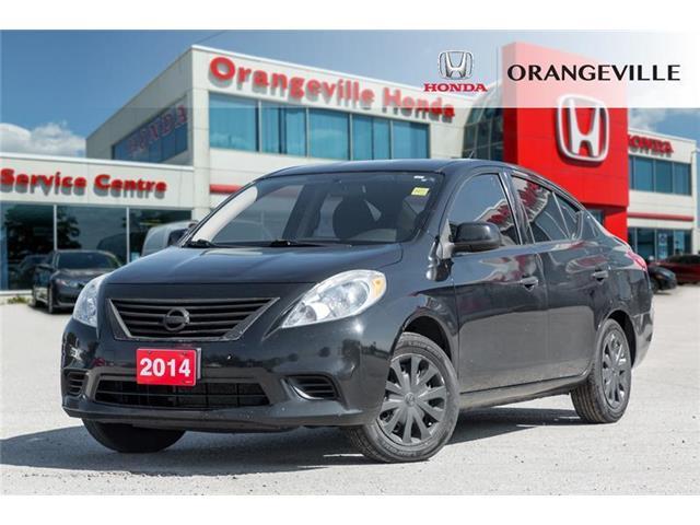 2014 Nissan Versa 1.6 S (Stk: V19254A) in Orangeville - Image 1 of 18