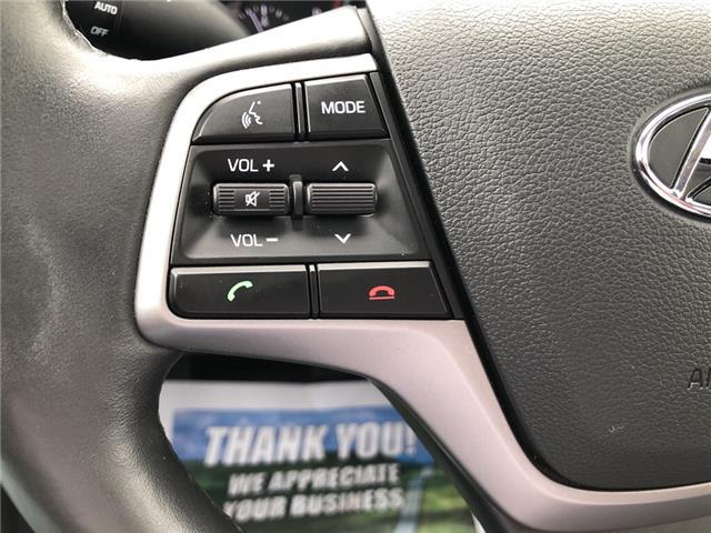 2018 Hyundai Elantra GL SE (Stk: -) in Kemptville - Image 16 of 28