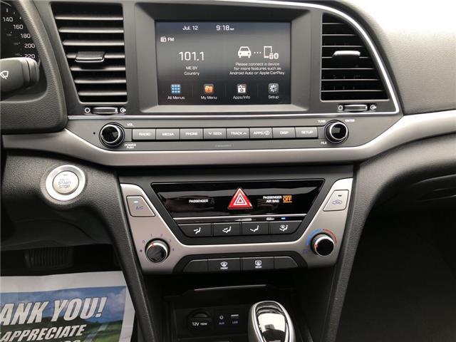 2018 Hyundai Elantra GL SE (Stk: -) in Kemptville - Image 18 of 28