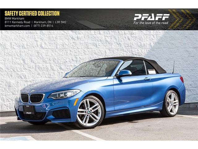 2015 BMW 228i xDrive (Stk: O12163) in Markham - Image 1 of 18