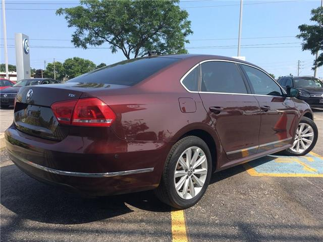 2012 Volkswagen Passat 2.0 TDI Highline (Stk: 5896V) in Oakville - Image 7 of 30