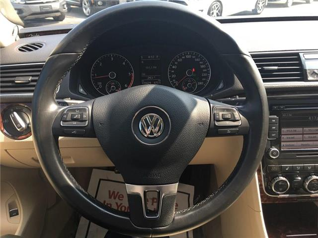 2012 Volkswagen Passat 2.0 TDI Highline (Stk: 5896V) in Oakville - Image 20 of 30