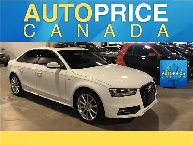 2015 Audi A4 2.0T Progressiv plus (Stk: F0476) in Mississauga - Image 1 of 24