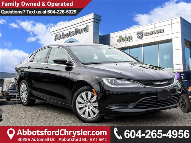 2016 Chrysler 200 LX (Stk: K443221A) in Abbotsford - Image 1 of 20