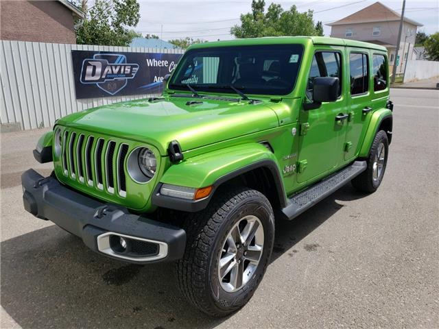 2019 Jeep Wrangler Unlimited Sahara (Stk: 15485) in Fort Macleod - Image 1 of 18