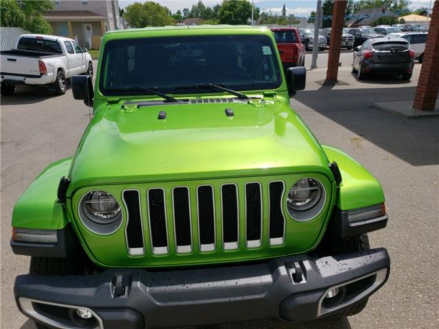2019 Jeep Wrangler Unlimited Sahara (Stk: 15485) in Fort Macleod - Image 2 of 18