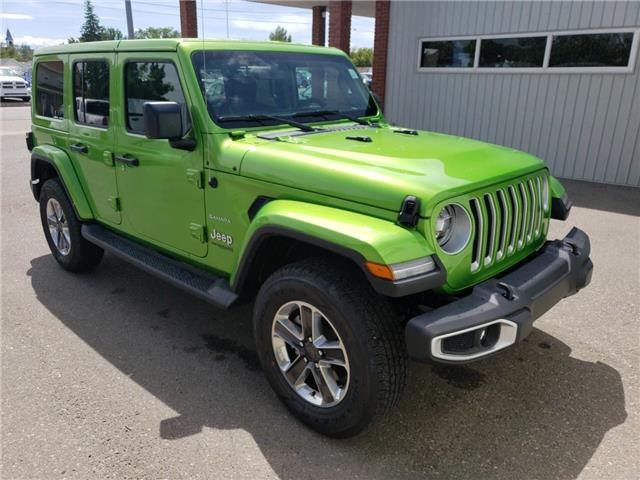 2019 Jeep Wrangler Unlimited Sahara (Stk: 15485) in Fort Macleod - Image 3 of 18