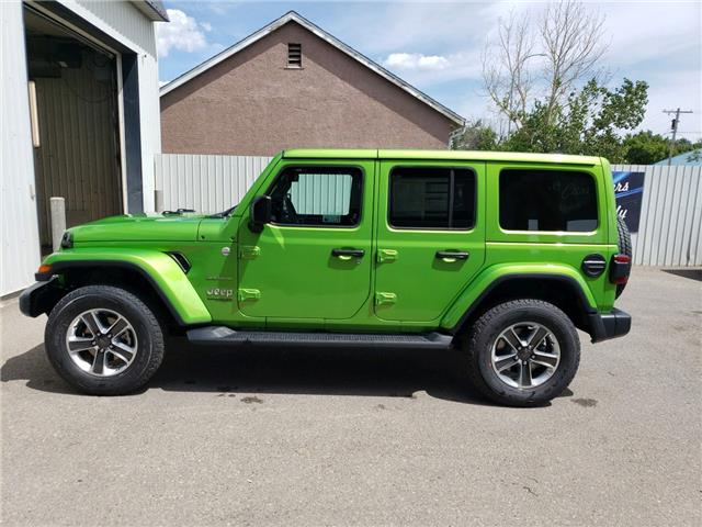 2019 Jeep Wrangler Unlimited Sahara (Stk: 15485) in Fort Macleod - Image 4 of 18