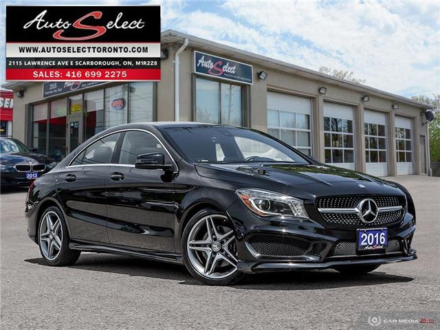 2016 Mercedes-Benz CLA-Class 4Matic (Stk: 16LACM4) in Scarborough - Image 1 of 27