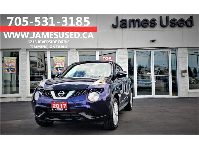 2017 Nissan Juke SV (Stk: P02615A) in Timmins - Image 1 of 14