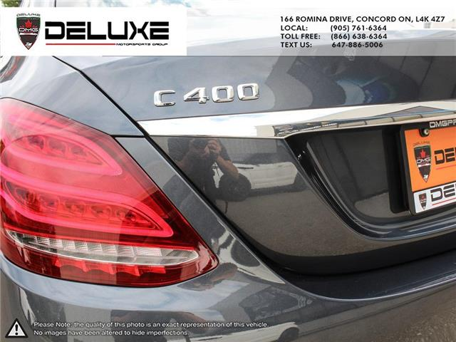 2015 Mercedes-Benz C-Class Base (Stk: D0616) in Concord - Image 8 of 28