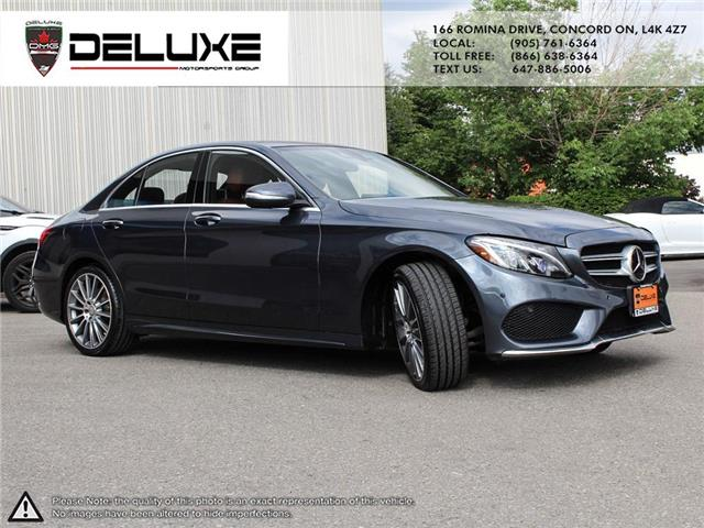 2015 Mercedes-Benz C-Class Base (Stk: D0616) in Concord - Image 10 of 28